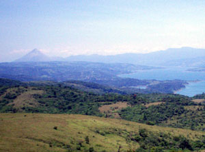 The 400+ acres are almost atop the hills at the northeast end of the lake between Aguacate and Rio Piedras.