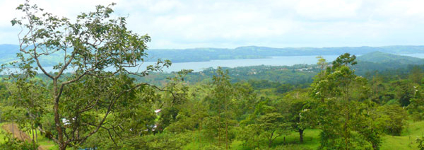 There are vast territorial views from the property, including Lake Arenal and the town of Nuevo Arenal.