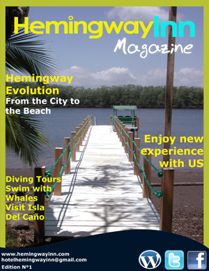 Hemmingway Inn's magazine cover featured the Finca Florida on its most recent cover.