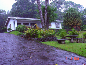 The prinicpal guest house has 3 bedrooms and 2 bathrooms in 1200 square feet.