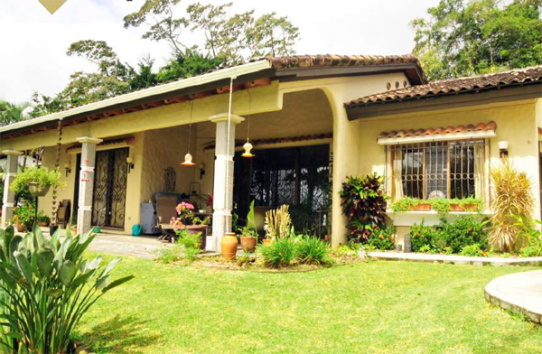 The Spanish Colonial home provides tropical living in comfort and style.