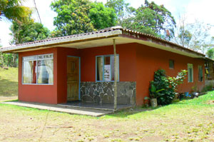 A typical Tico house in good condition is ready for occupancy.