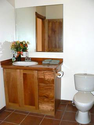 The second bathroom.