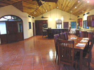 Casa Fiesta, totaling 3400 square feet, has an immense great room with large windows and multiple access to the broad veranda.