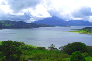 The Rio Chiquito region has great views of the Arenal Volcano and the southeastern third of Lake Arenal.