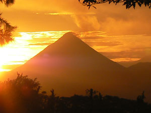 All this and great volcano sunrises,