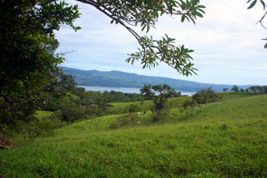 Some of the lots have Lake Arenal views.