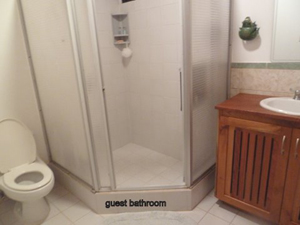 A guest bathroom.